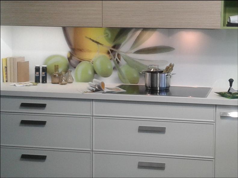 Berühmt Küchenrückwand statt Fliesen – Ihre Küche mit Ihrem Motiv ZY38