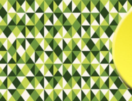 """Neues Motiv für Ihre Küchenrückwand """"grünes Muster"""""""