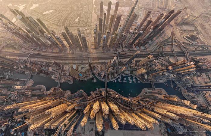 Tiefenfotografie auf Vynylkunststoffboden – Motiv City 002